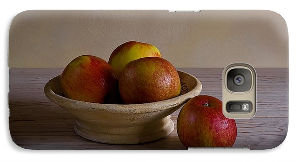 Galaxy Case featuring the photograph Red Apples by Trevor Chriss