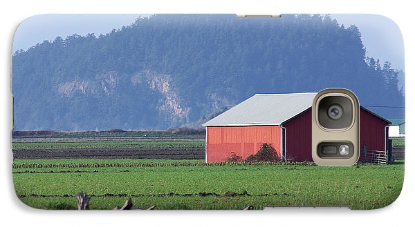 Galaxy Case featuring the photograph Red Barn by Erin Kohlenberg