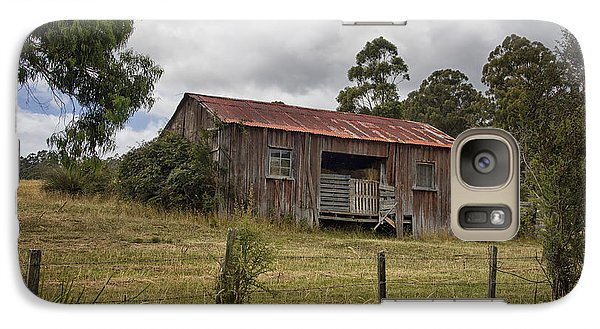Galaxy Case featuring the photograph Red Barn by Kim Andelkovic