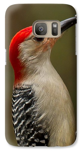 Galaxy Case featuring the photograph Red-bellied Woodpecker by Robert L Jackson