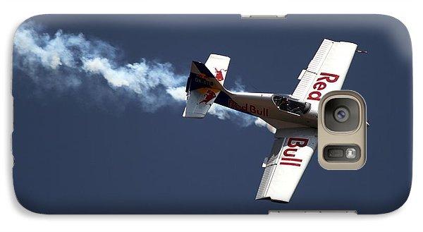 Galaxy Case featuring the photograph Red Bull - Aerobatic Flight by Ramabhadran Thirupattur