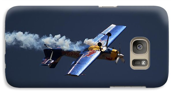 Galaxy Case featuring the photograph Red Bull - Inverted Flight by Ramabhadran Thirupattur