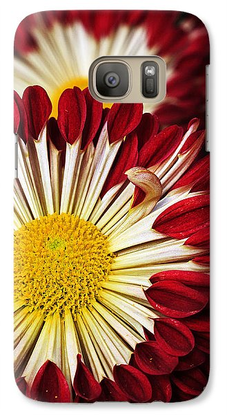 Galaxy Case featuring the photograph Red Burst by Robert Pilkington