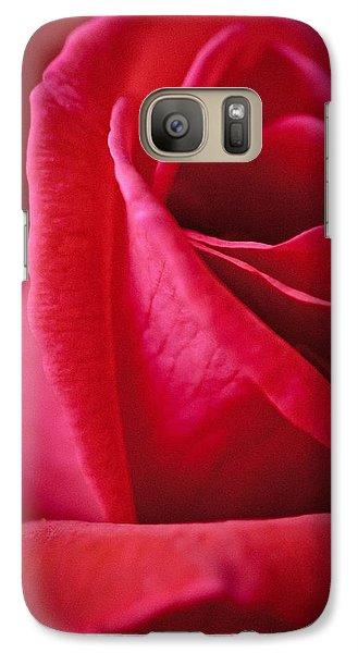 Red Galaxy S7 Case