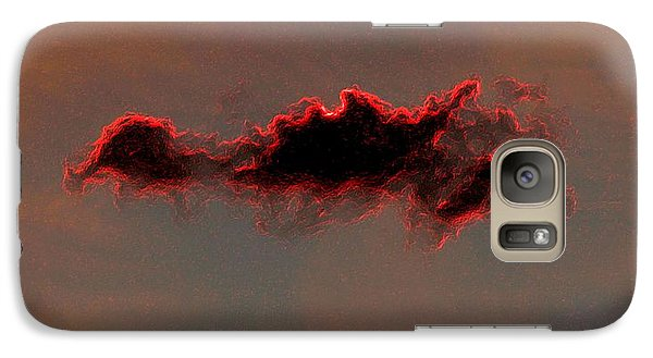 Galaxy Case featuring the photograph Red Cloud by Michael Dohnalek