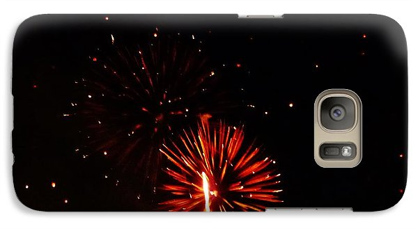 Galaxy Case featuring the photograph Red Dahlia by Amar Sheow
