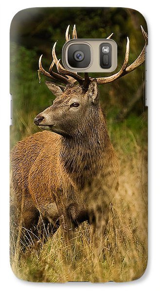 Galaxy Case featuring the photograph Red Deer Stag by Paul Scoullar