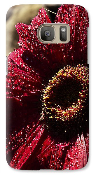Galaxy Case featuring the photograph Red Dew by Joe Schofield