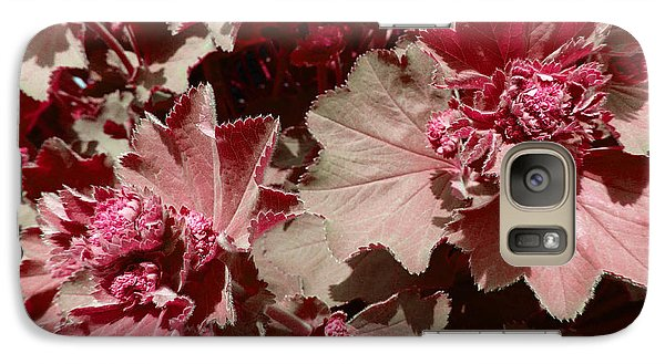 Galaxy Case featuring the photograph Red Flowers by Laurie Tsemak