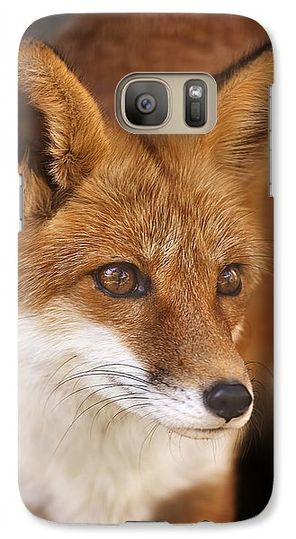 Galaxy Case featuring the photograph Red Fox  by Brian Cross