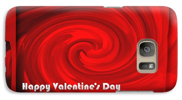 Galaxy Case featuring the photograph Red Hot Valentine by Cheryl McClure