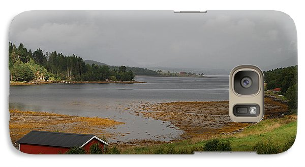 Galaxy Case featuring the photograph Red House Creek by Ankya Klay
