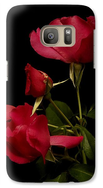 Galaxy Case featuring the photograph Red Is For Passion by Lucinda Walter