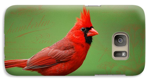 Galaxy Case featuring the photograph Red It Is by Linda Segerson