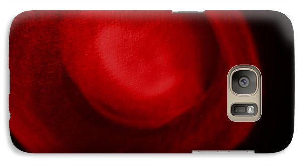 Galaxy Case featuring the photograph Red Light by Joel Loftus