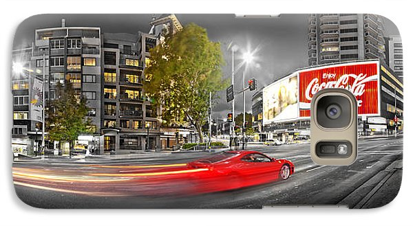 Red Lights Sydney Nights Galaxy S7 Case