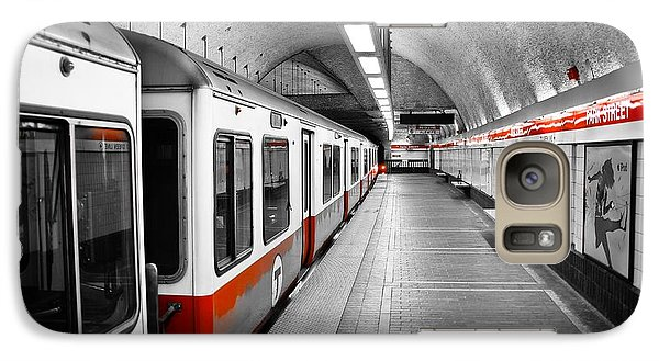 Red Line Galaxy S7 Case by Charles Dobbs