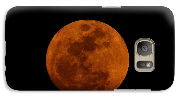 Red Moon Galaxy S7 Case