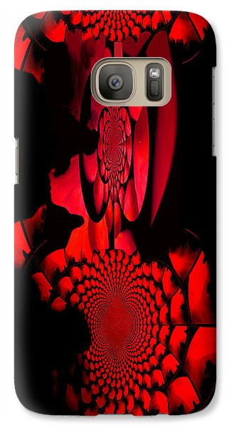 Galaxy Case featuring the painting Red October Iphone Case by Robert Kernodle