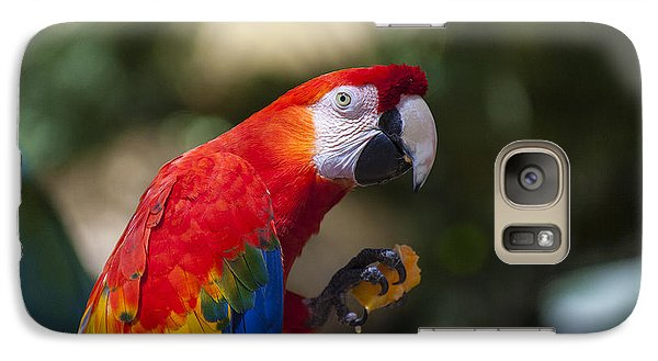 Red Parrot  Galaxy S7 Case