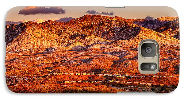 Galaxy S7 Case featuring the photograph Red Planet by Mark Myhaver