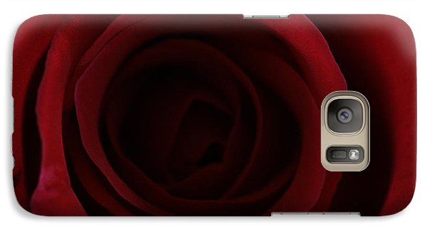 Galaxy Case featuring the photograph Red Red Rose by Keith Hawley