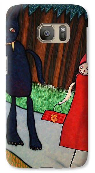 Fairy Galaxy S7 Case - Red Ridinghood by James W Johnson
