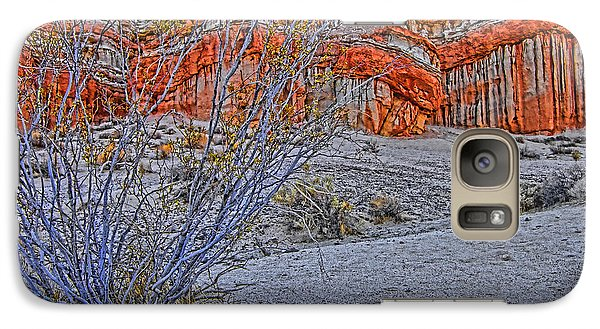 Galaxy Case featuring the photograph Red Rock Canyon 2 by Jason Abando