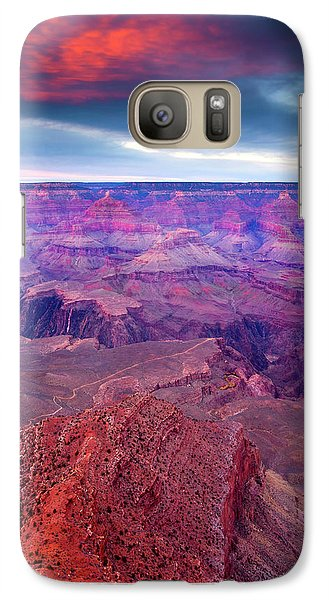 Red Rock Dusk Galaxy S7 Case by Mike  Dawson