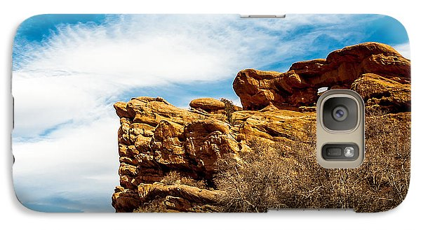 Galaxy Case featuring the photograph Red Rocks Dragon by Todd Soderstrom