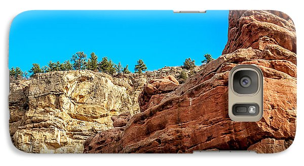 Galaxy Case featuring the photograph Red Rocks View 002 by Todd Soderstrom