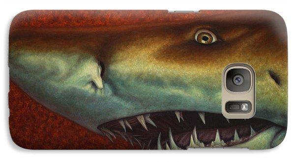 Nurse Shark Galaxy S7 Case - Red Sea Shark by James W Johnson