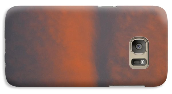 Galaxy Case featuring the photograph Red Sky Above  by Lyle Crump