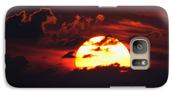 Red Sky At Night Galaxy S7 Case