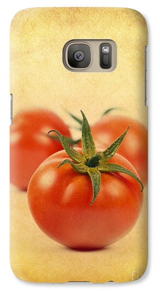 Galaxy Case featuring the photograph Red Tomato by Mohamed Elkhamisy