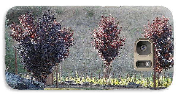 Galaxy Case featuring the photograph Red Tree's by Shawn Marlow