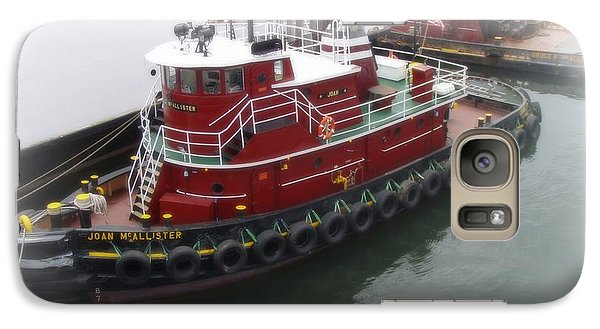Galaxy Case featuring the photograph Red Tugboat by Kristine Nora