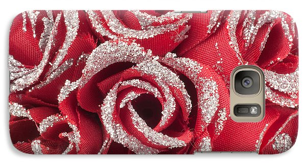 Galaxy Case featuring the photograph Red Valentines Day Roses by Gunter Nezhoda