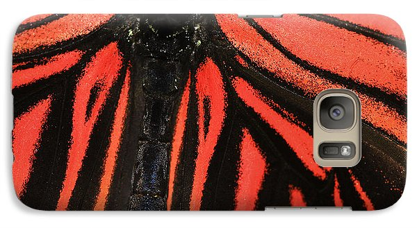 Galaxy Case featuring the photograph Red Wings by Sonya Lang