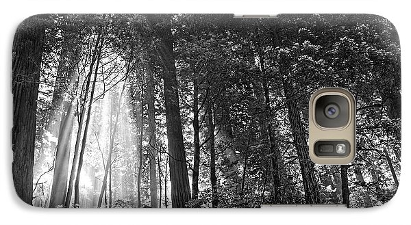 Galaxy Case featuring the photograph Red Woods 2 by Thomas Born