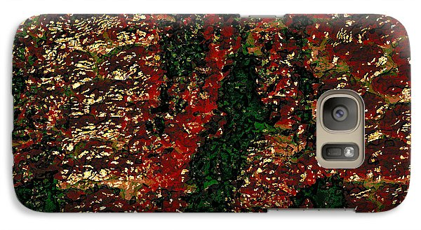 Galaxy Case featuring the digital art Red052613 by Matt Lindley