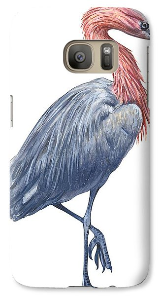 Reddish Egret Galaxy S7 Case by Anonymous
