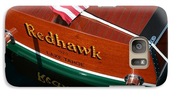 Galaxy Case featuring the photograph Redhawk by Vinnie Oakes