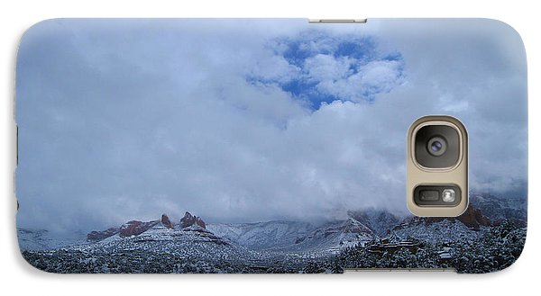 Galaxy Case featuring the photograph Redrock Clearing by Tom Kelly