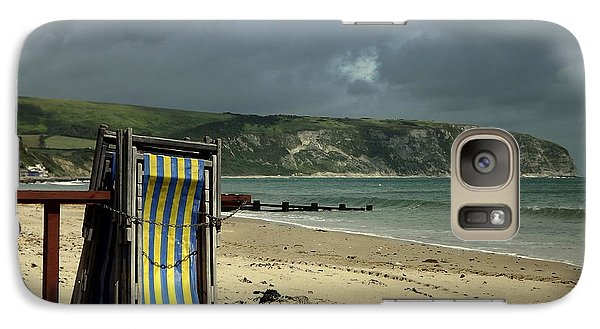 Galaxy Case featuring the photograph Redundant Deck Chairs by Linsey Williams