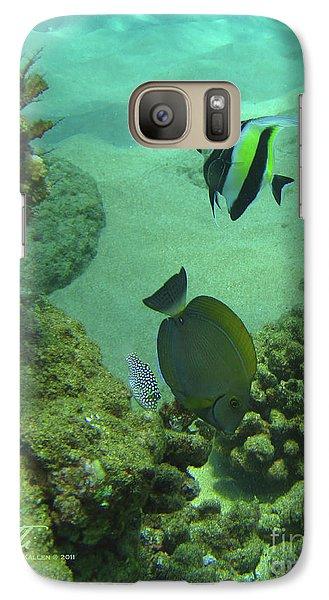Reef Life Galaxy S7 Case by Suzette Kallen