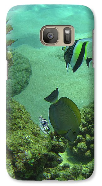 Galaxy Case featuring the photograph Reef Life by Suzette Kallen