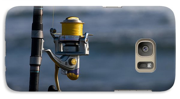 Galaxy Case featuring the photograph Reel Excitement by Greg Graham
