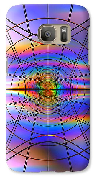 Galaxy Case featuring the digital art Reentry At Dusk by Andreas Thust