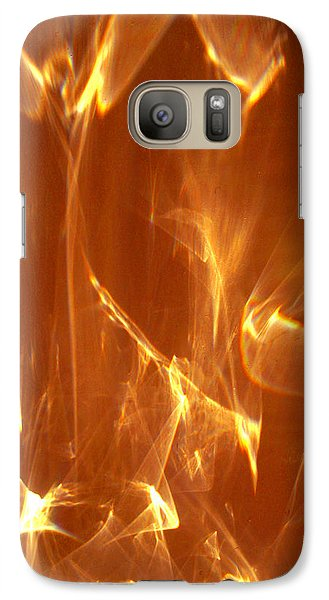 Galaxy Case featuring the photograph Reflected Angel by Leena Pekkalainen